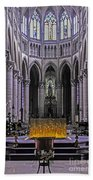 Rouen Cathedral  Beach Towel