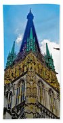 Rouen Church Steeple Beach Towel