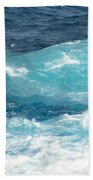 Rough Waves 1 Offshore Beach Towel