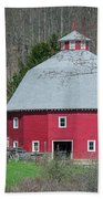 Round Barn Beach Towel