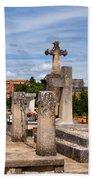 Roussillon Cemetery Beach Towel