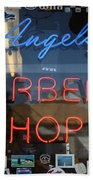 Route 66 - Angel's Barber Shop Beach Towel