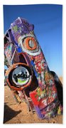 Route 66 Cadillac Ranch Beach Towel