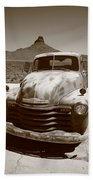 Route 66 - Classic Chevy Beach Towel