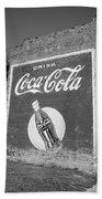 Route 66 - Coca Cola Ghost Mural Beach Towel