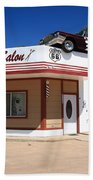 Route 66 - Desoto's Salon Beach Towel