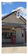 Route 66 - Odell Gas Station 7 Beach Towel