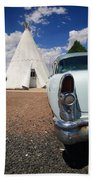 Route 66 Wigwam Motel Beach Towel