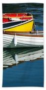 Row-boats Beach Towel