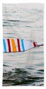 Rowing Oar Beach Towel