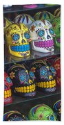 Rows Of Skulls Beach Towel