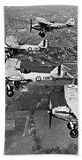 Royal Air Force Formation Beach Towel