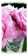 Royal Kate Roses Beach Towel by Will Borden