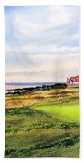 Royal Liverpool Golf Course Hoylake Beach Towel