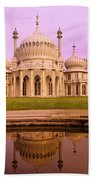 Royal Pavilion In Brighton England Beach Towel