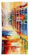 Royal Street Reflections Beach Towel
