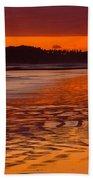 Ruby Beach Afterglow Beach Towel