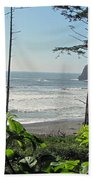 Ruby Beach I Beach Towel