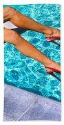 Ruby Heels Not In Kansas Palm Springs Beach Towel