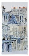 Rue Du Rivoli Paris Beach Towel