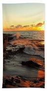 Rugged Shore Fall Beach Towel