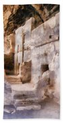 Ruins Beach Towel by Michelle Calkins