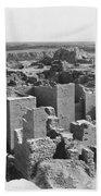 Ruins Of Babylon Beach Towel