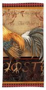 Ruler Of The Roost-4 Beach Towel