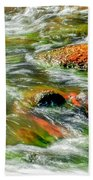 Running River Beach Towel