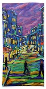 Rural City Scape By Prankearts Beach Towel