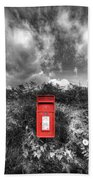 Rural Post Box Beach Towel by Mal Bray