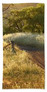 Rural Road 2am-009691 Beach Towel