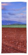Rural Sunset Beach Towel