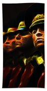 Russian Honor Guard - Featured In Men At Work Group Beach Towel