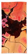 Rust And Paint - 519 Beach Towel