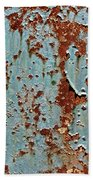 Rust And Paint Beach Towel