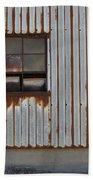Rust And Window 1 Beach Towel