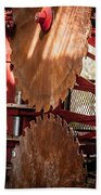 Rusted Blades Beach Towel