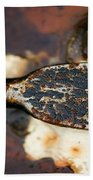 Rusted Camouflage Beach Towel