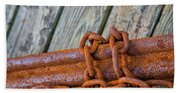 Rusted Chained Beach Towel