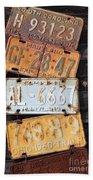Rusted Plates Beach Towel
