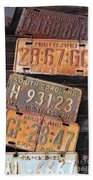 Rusted States Beach Towel
