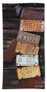 Rusted Usa Beach Towel