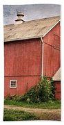 Rustic Barn Beach Towel by Bill Wakeley