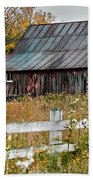 Rustic Berkshire Barn Beach Towel