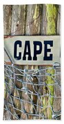 Rustic Cape Cod Beach Towel by Bill Wakeley