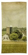 Rustic Farm - Barn Beach Towel