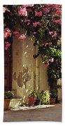 Rustic Greek Townhouse Beach Towel