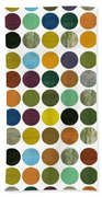 Rustic Rounds 75 Number Two Beach Towel