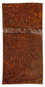 Rusting Wrench   #0726 Beach Towel